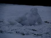 Reclining Snow Maiden
