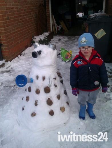 Dalek Snowman