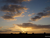 Email Request for Autumn Photographs – DSC4147 Sunset over Graveley