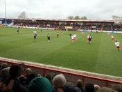 Action from Stevenage FC