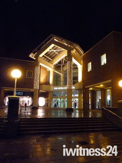 Howard Centre at night