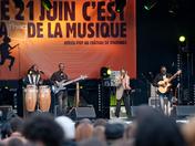 Celebration of the 'Fête de la musique 2010' in Paris