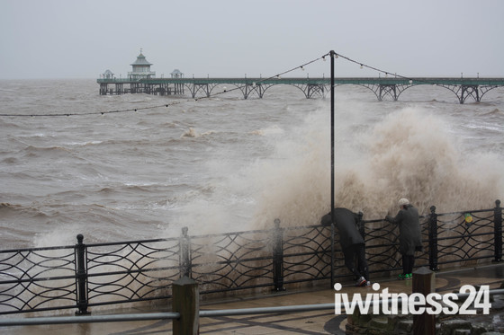 Saturdays Storms at Clevedon