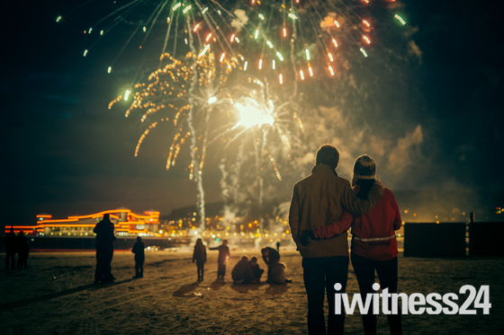 WSM Pier Fireworks display