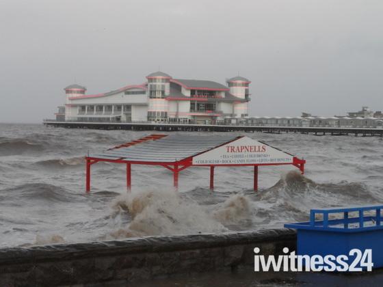 Weston Super Mare High Tide