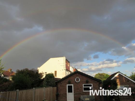 Rainbow over Ilford