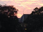 sunset over hidden kensington