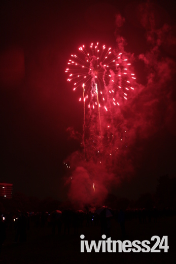 Harrowlodge Park Firework Display 2014