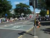 Olympic Torch Relay in Hornchurch 22nd July 2012