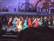 Olympic Opening Ceremony Rehearsal
