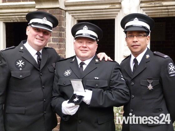 Havering ST John Ambulance Members Recieve Prestigious Awards
