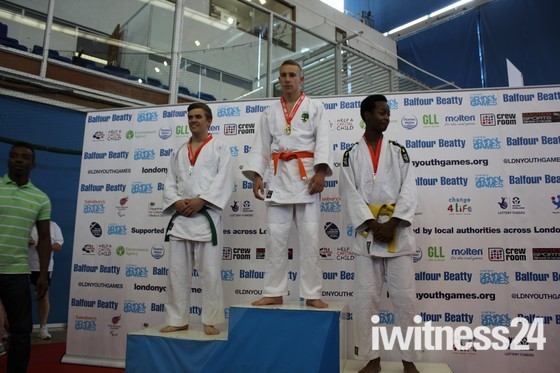 Eastern Promise - Judo Gold for Eastbrook Student