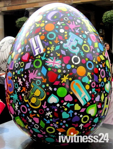 FABERGE EGG HUNT LONDON - WHEN THEY ARE GONE THEY ARE GONE FOREVER