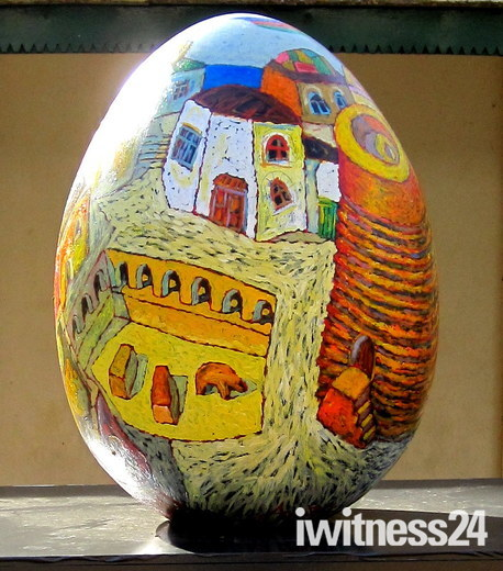 FABERGE EGG HUNT - BAKU FAIRY TALE BY MR ANAR HUSEYNZADE