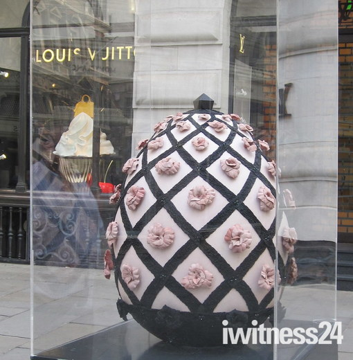 FABERGE EGG HUNT LONDON 2012