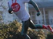 FULHAM STATUE SHOWS SUPPORT FOR SPORT RELIEF
