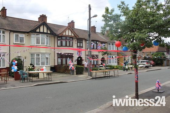 Flora Garden's Queen's Diamond Jubilee Street Party!