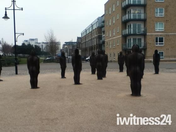 Greenwich statues