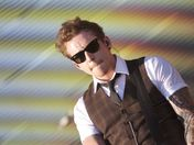 Mcfly at the  queen Elizabeth Olympic park