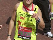 Tony Audenshaw, George Tainsford, James Toseland finish the London Marathon