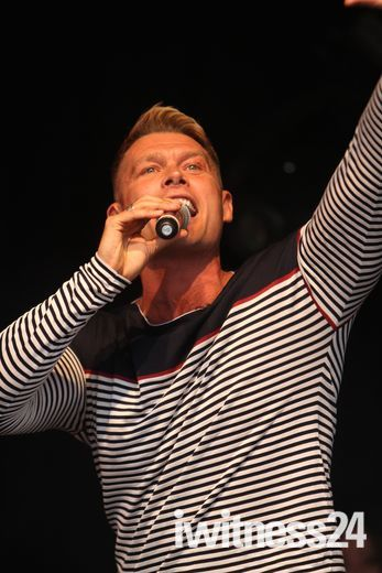 John Partridge at West End Live 2012