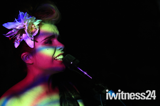Paloma Faith performs at Raffles in Chelsea.