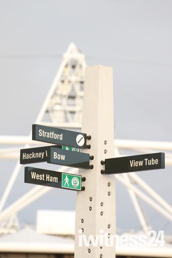 Regeneration around the Olympic Stadium in Stratford