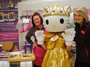 Candy floss sales and character mascots boost Eltham store fund-raiser