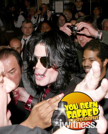 Michael Jacksons last ever night in London 2009