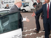 Mayor of London at Mobile Bar Hire's 10th anniversary
