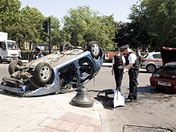 Accident at Clapton Pond