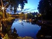 River Lea at Night