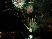 Fireworks at the Ipswich Maritime Festival