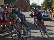 Tour of Britain, through Tunstall