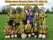 Witnesham Hornets girls under 12s F.C.