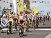 Ladies Tour Stage 1 finish