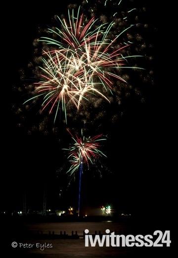 Fireworks Display Lowestoft South Pier 02/11/12