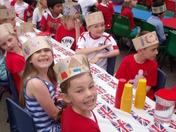 Waldringfield Primary School street party for Queen's Diamond Jubilee