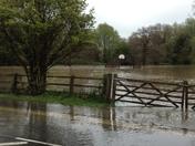 Floods near Stowmarket