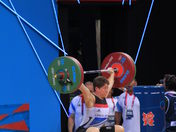 London 2012 Olympic weightlifting