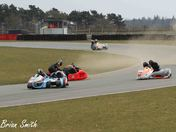 OOPS a bit of a moment at Murrays  (Snetterton sun 31 - 3 -13)