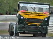 Truck racing at Snetterton