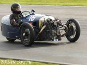 Vintage sports cars at Snetterton