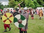 saxon warrior at sutton hoo