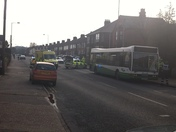 Fatal accident at Wherstead Road, Ipswich
