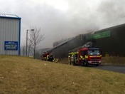 Blaze at Haverhill recycling centre