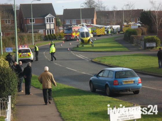 Incident in Kesgrave