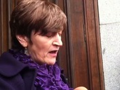 Cassie McCord's mother makes a statement after the teenager's inquest