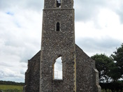 PANXWORTH CHURCH RUINS ?.ID Required.