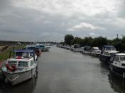 Dull Morning at Acle Boat Dyke.